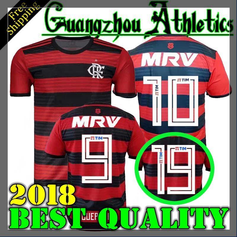 8bd65424ca Nueva Fuente Cr Flamengo 2018 Camiseta De Fútbol 18 19 Flamengo Home Camisa  De Futebol Guerrero Diego 2018 Camiseta De Fútbol Vinicius Jr Maillot Por  ...