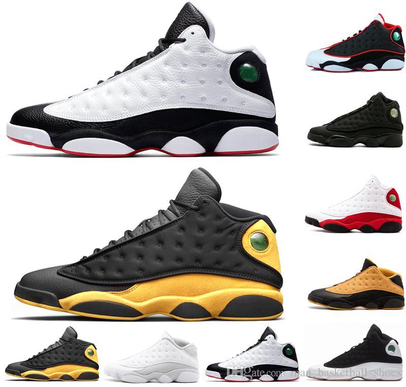 8119ac6a66118c Melo Class of 2003 13 13s Men Basketball Shoes Pure Money Low ...