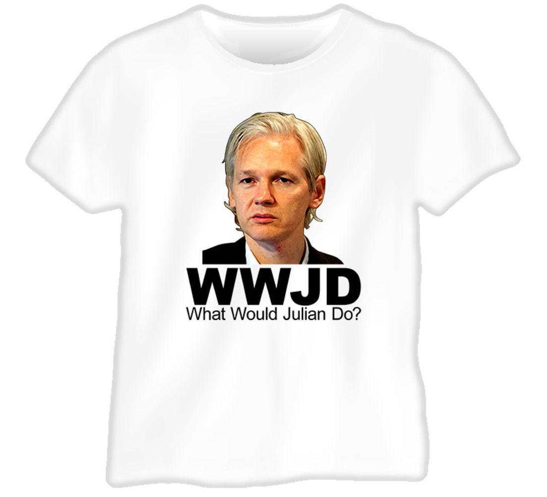 What Would Julian Assange Do Wikileaks T Shirt