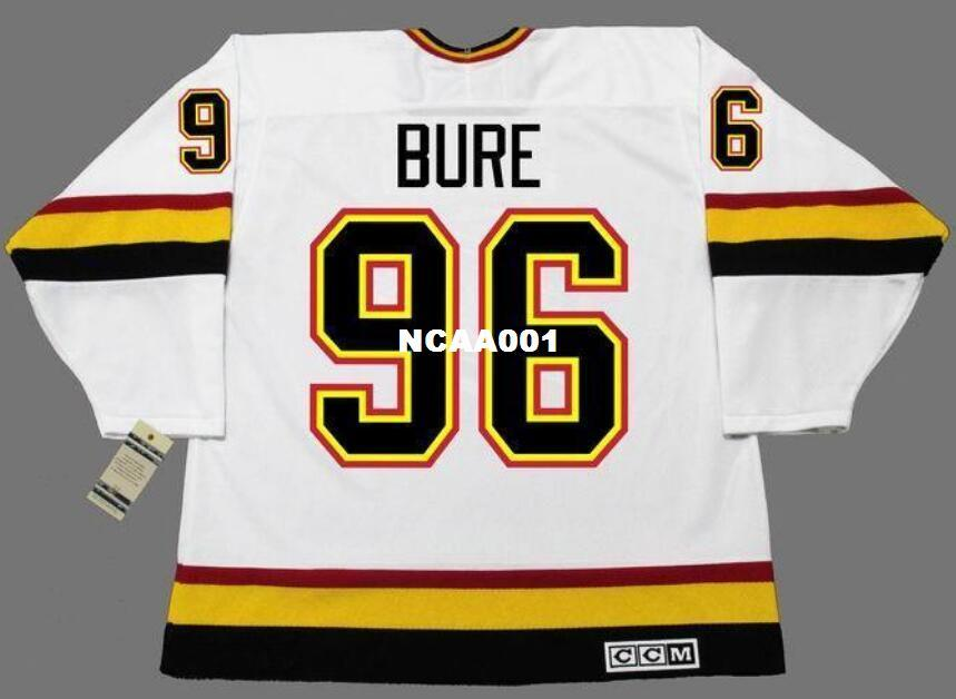 0257c053ddd 2019 Real Men Real Full Embroidery  96 PAVEL BURE Vancouver Canucks 1996  CCM Vintage Hockey Jersey Or Custom Any Name Or Number Hockey Jersey From  Ncaa001