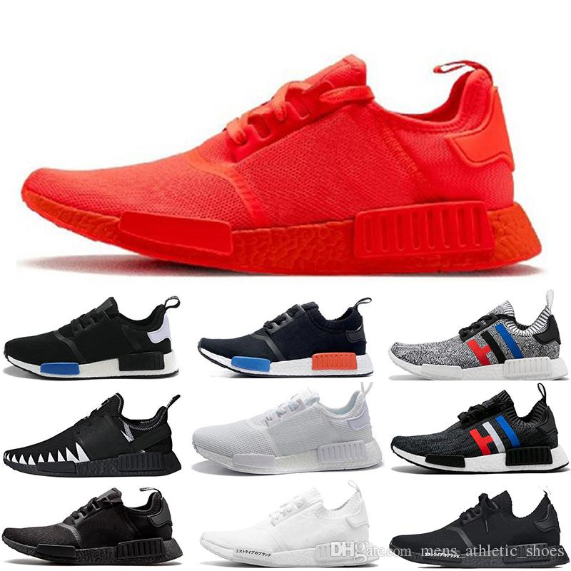 657a86317 High Quality Women Running Shoes NMD XR1 Triple Red Black Beige ...