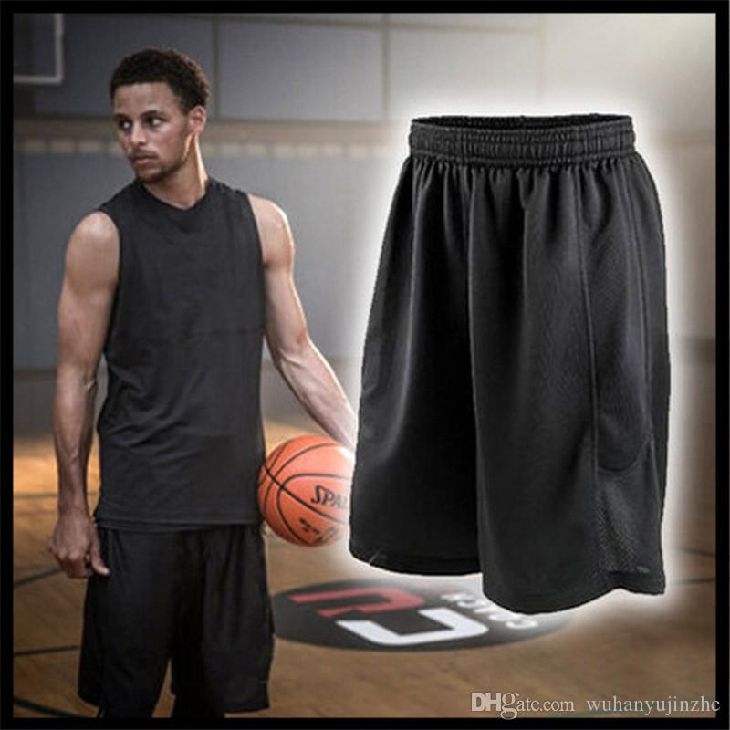 c7e7649ce871 2019 2018 Mens Stars Black Basketball Shorts Quick Dry Breathable Training  Basket Ball Jersey Sport Running Shorts Men Sportswear DH158 From  Wuhanyujinzhe