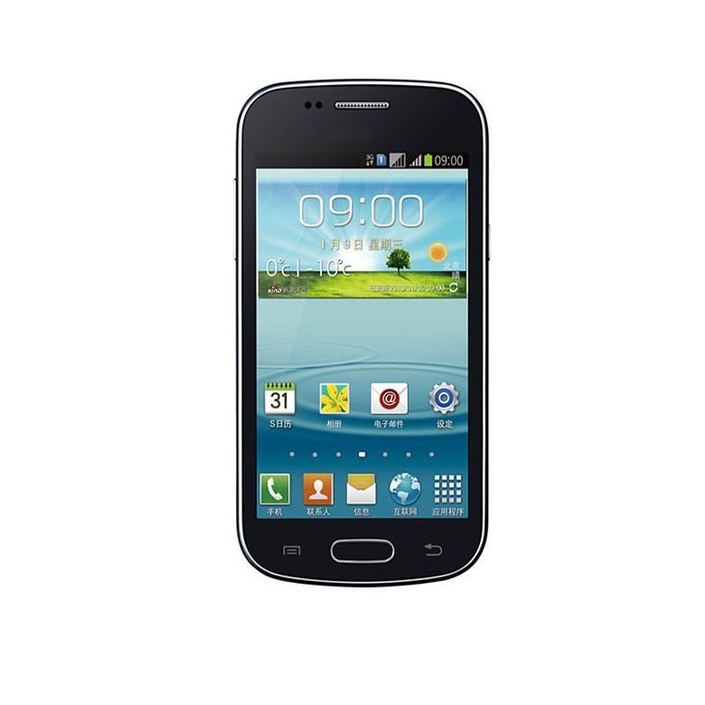 Dual core 3G WCDMA 4G Rom 3MP telefono sbloccato fotocamera Android da 4 pollici S7572 telefono cellulare smart phone con WIFI GPS