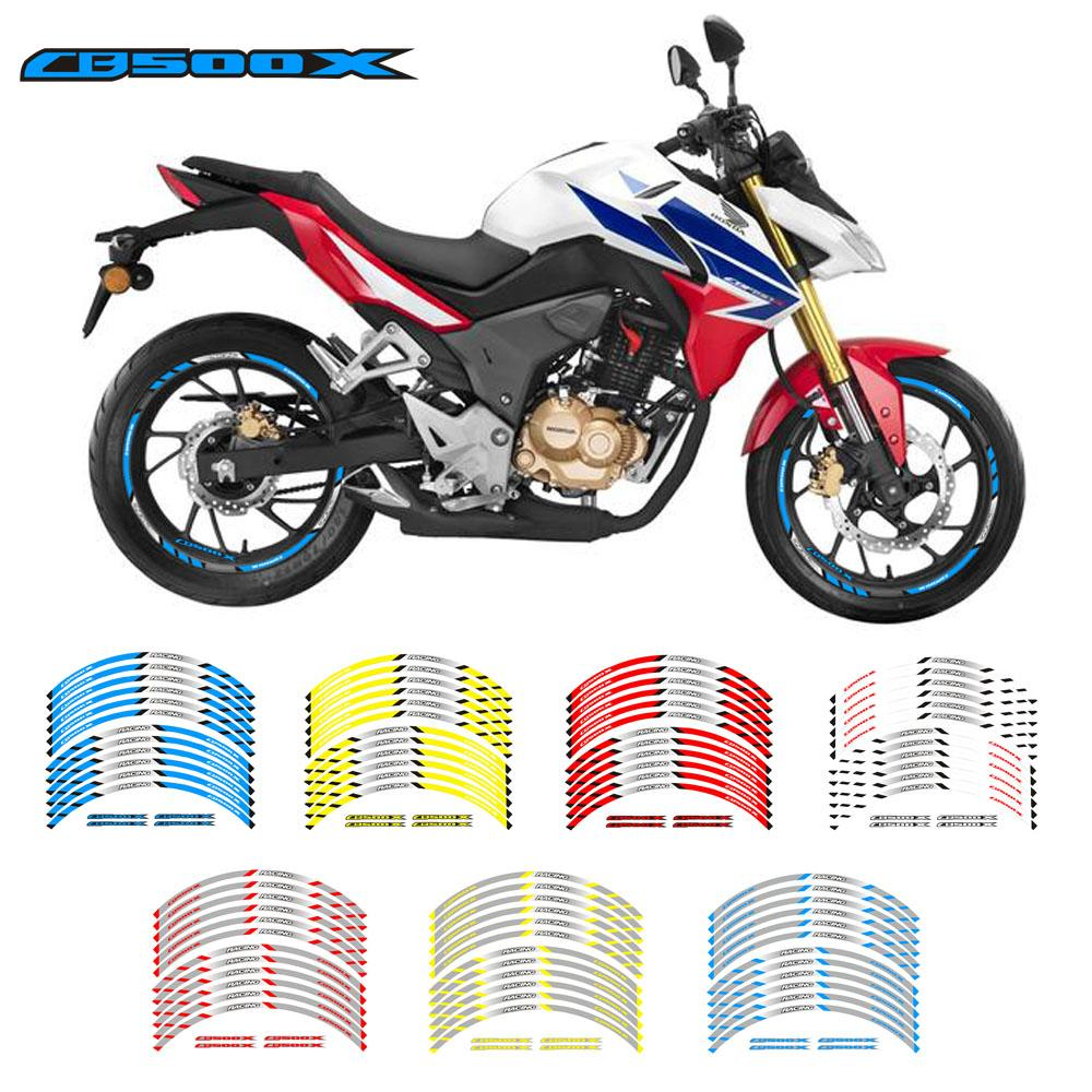 2019 new motorcycle wheel decals stickers rim stripe front rear wheels for cb500x from sanjiaomeiflo 30 79 dhgate com