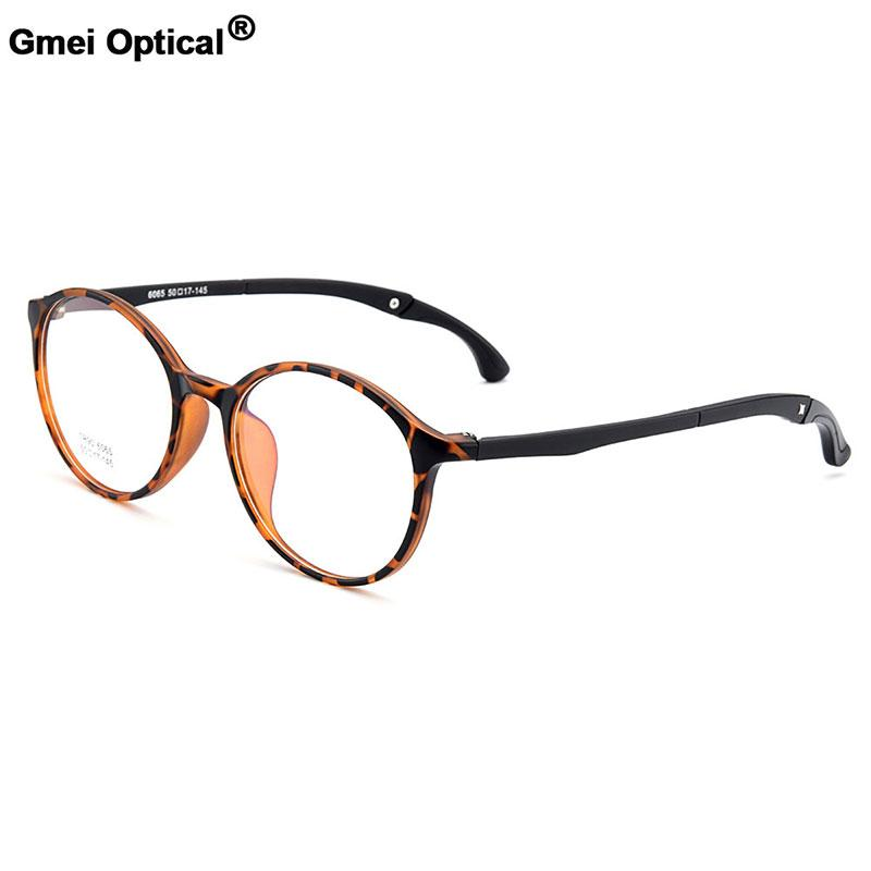 8004840a8b784 Gmei Optical Urltra-Light TR90 Student Round Optical Eyeglasses Frames With  Hangers Plastic Myopia Presbyopia Spectacles M6065 Optical Eyeglasses Frame  ...