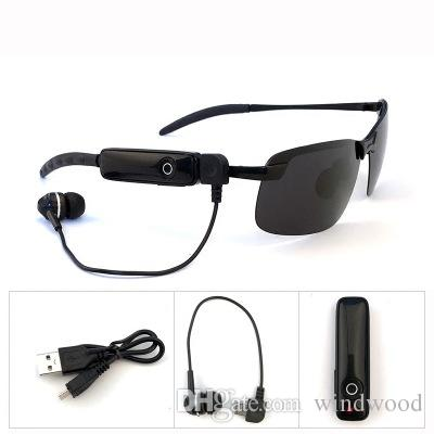 be992510162 Smart Stereo Bluetooth Glasses Unisex Polarized Metal Half Frame Sunglasses  Listen To Music Calling Sun Glasses Accessories UV400 Reading Glasses ...
