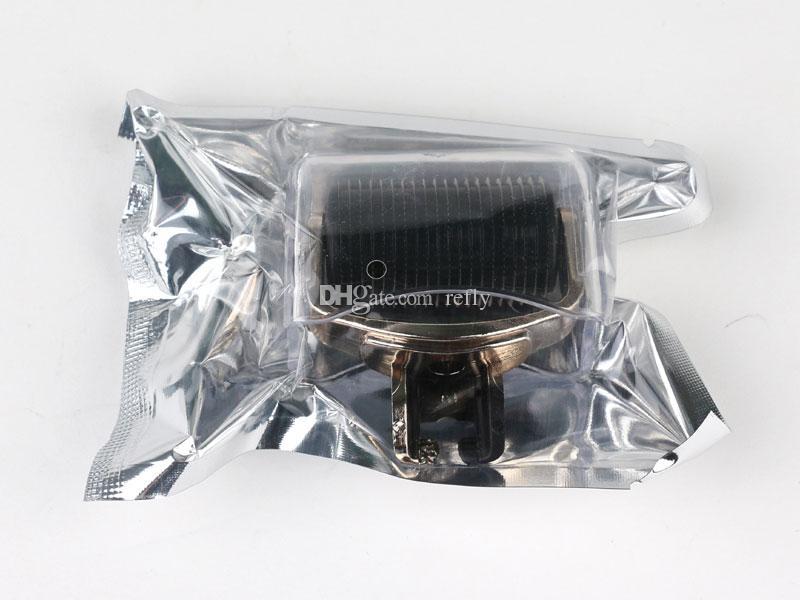 3 in 1 Derma Roller Skin Sistema di ringiovanimento Micro Ago rullo 180C 600C 1200C Aghi Viso Corpo Pelle DermaRoller