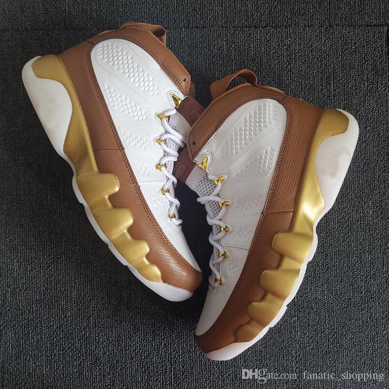 e8fb67ff16e9dd 2018 New 9 Mop Melo Men Basketball Shoes 9s Gold Brown Designer Sports  Sneakers 7 13 With BOX Shoes Brands Basketball Shoes For Women From  Fanatic shopping