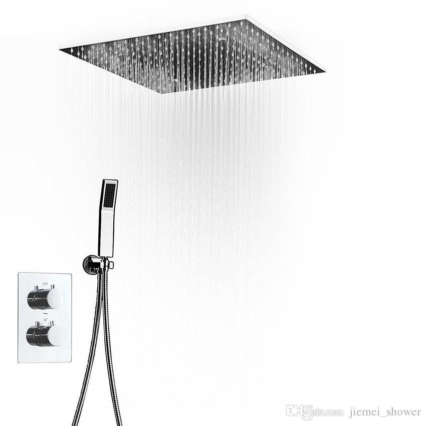 스파 큰 비 샤워 꼭지 현대 샤워 천장 20 ''Showerheads 패널 304 스테인레스 스틸 샤워 세트