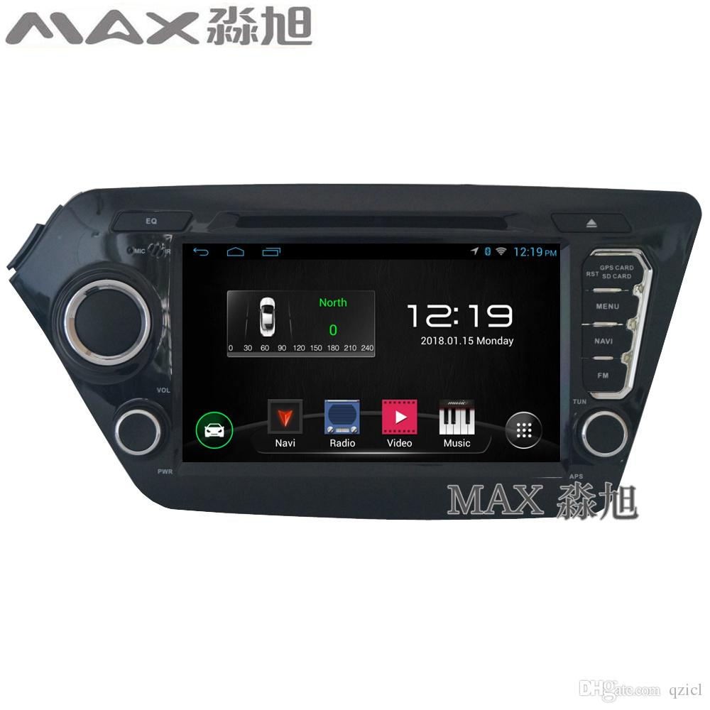 gps navigation radio Car DVD Player for Kia K2 with Car Radio stereo BT swc map WIFI