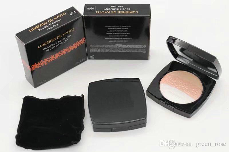 HOT NEW Makeup Compacte powder Face Contour Cosmetics POWDER LUMIERES DE KYOTO BLUSH HARMONY Illuminating Powder Shimmer Pressed Face P