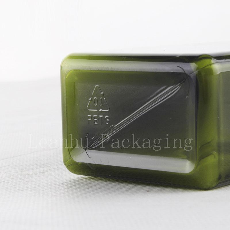 100ml 280ml square bottle with lotion pump (4)