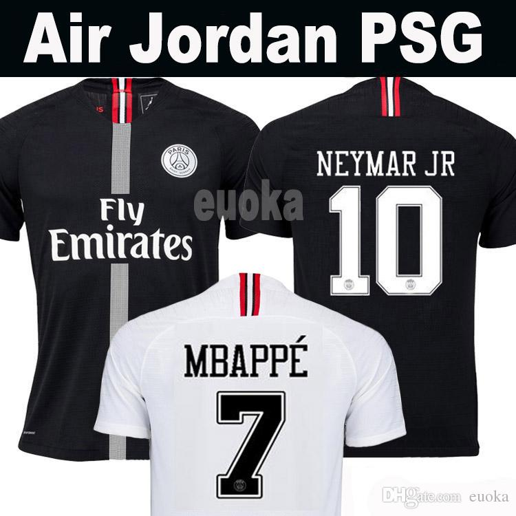 2019 Thailand Maillots PSG Soccer Jersey 2019 Paris 3rd Third MBAPPE Saint  Germain NEYMAR JR Jersey 18 19 Survetement Football Kit Shirt Women From  Euoka 7fa669eeb