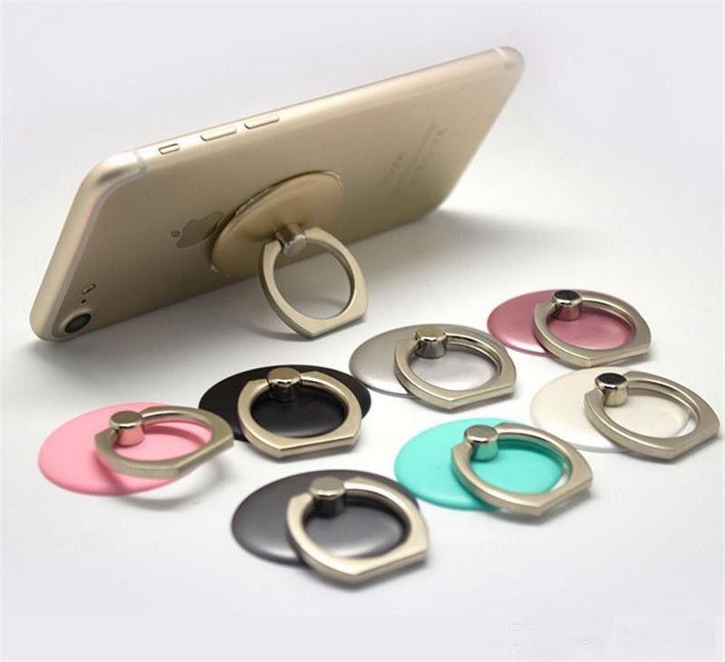 perakende paketi ile Cep Telefonu Standı için 360 Rotasyon Halka Tutucu Cep Telefonu Halka Tokalar Tutma standı Cep Telefonu Parmak Metal Halka Tutucu