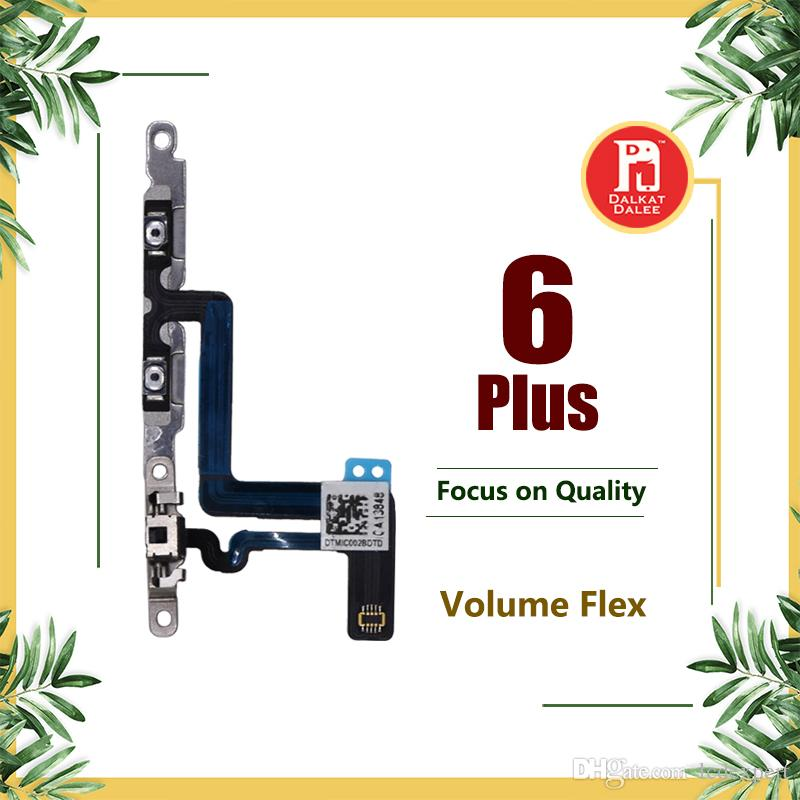 Volume Button Connector Flex Cable For Apple iPhone 6 Plus 5.5 Inch Mute Lock Switch Ribbon Replacement Part Replace Repair Fix Parts