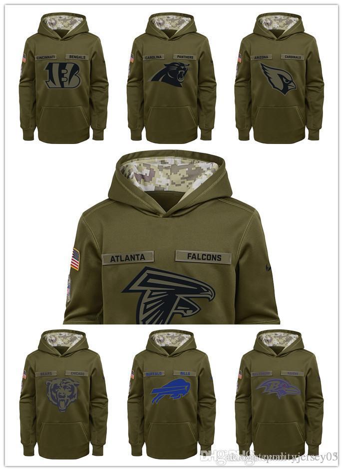 2018 New Children's Clothing Falcons Bills Cardinals Bears Ravens  supplier