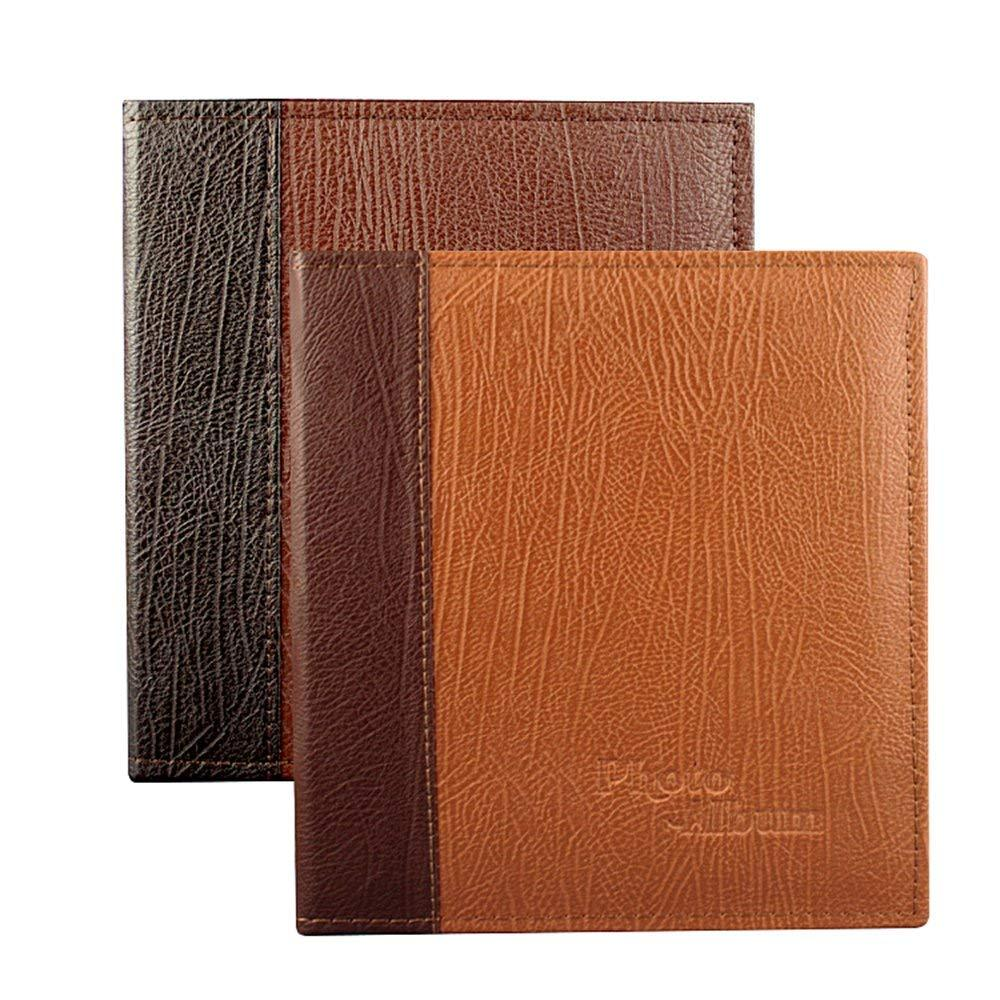 2019 5 X 7 Inch Photo Albums With Leather Cover 2 Pack From Caley