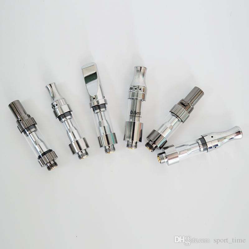 Оригинальные Танки Amigo Liberty Vape Pen Патроны V5 V6 V7 V8 V9 Oil Cartridge Ceramic Coil Распылитель E сигареты Vape 0.5ml 1мл