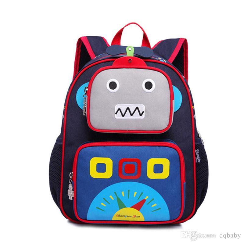 New Toddler Kid Children Boy Girl 3D Cute Cartoon Backpack School Bag  Kindergarten DHL Brands Backpacks Kids School Backpack From Dqbaby e7f99a3382e04