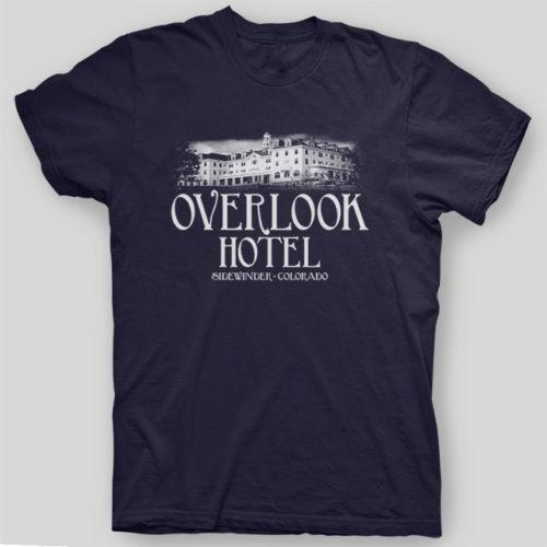 3fffd1d93047a OVERLOOK HOTEL The Shining Kubrick Nicholson HORROR King T-Shirt SIZES  S-5XFunny free shipping Unisex Casual gift