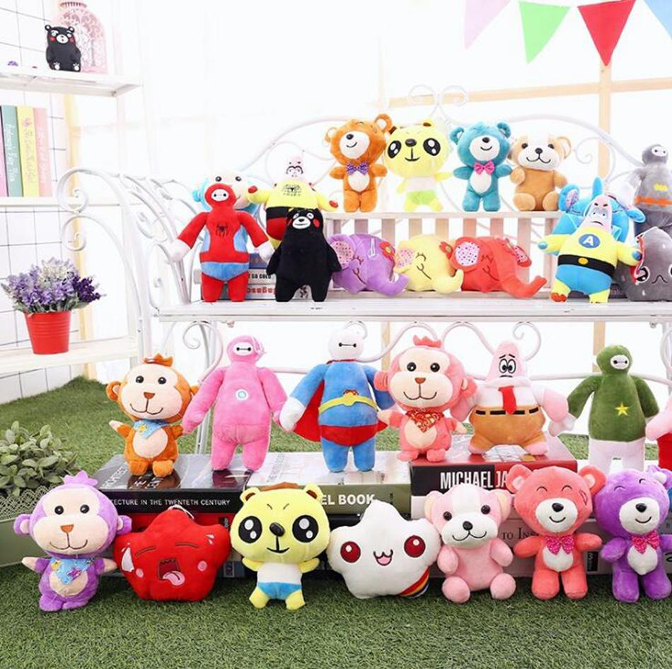 Cartoon Plush Toys Smeshariki Stuffed Animals Hedgehog Kikoriki