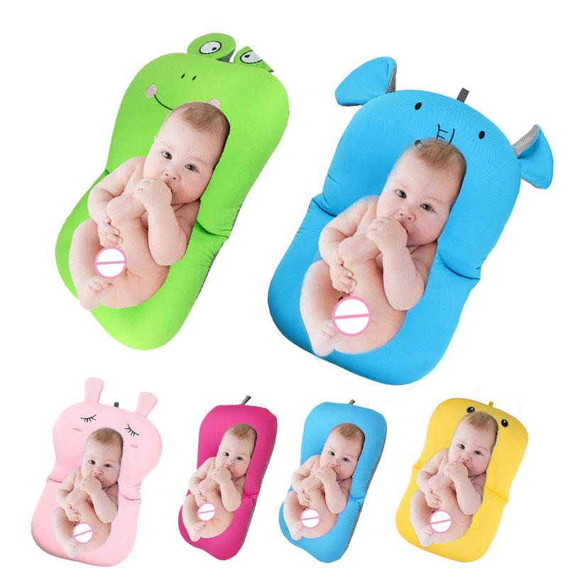 2018 2018 Baby Bath Tub Newborn Baby Foldable Baby Bath Tub Pad ...