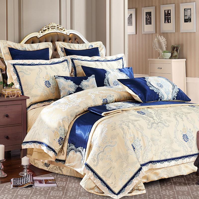 Großhandel Heißer Verkauf 100 Baumwolle Luxus Bettwäsche Set Neue