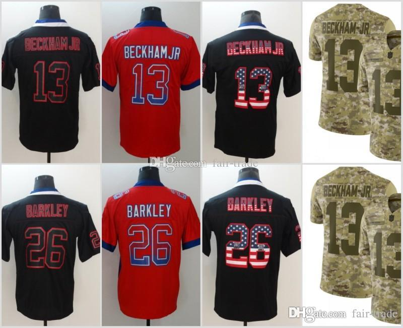 ... spain 2018 13 odell beckham jr new york jerseys 26 saquon barkley giants  2018 usa flag f5e41114a