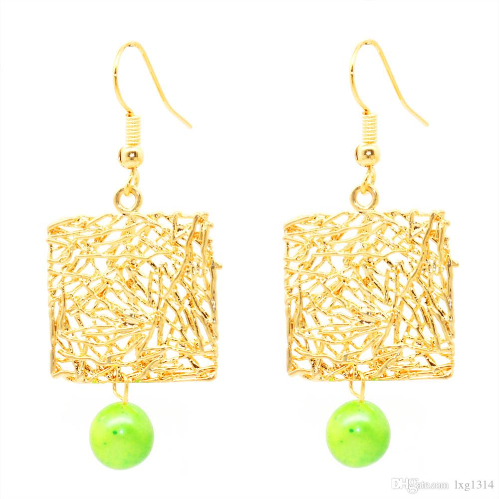 f0f309637 2019 2018 The Latest Fashion Design Natural Freshwater 7 8mm Pearl Earrings  BS Line 14K Gold Female Earrings From Lxg1314, $7.34 | DHgate.Com