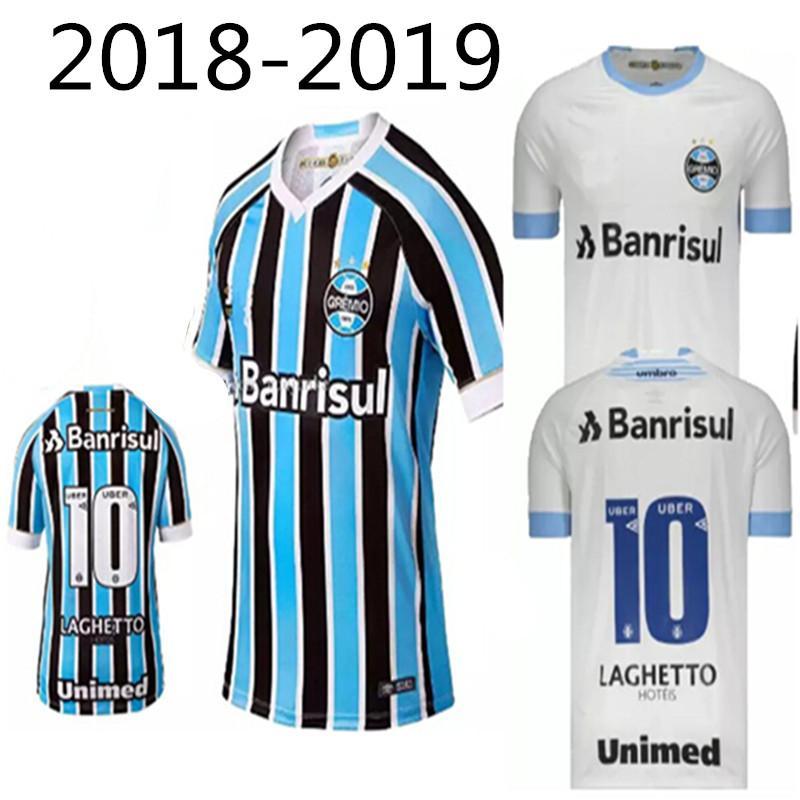 32856c012 Compre 2019 T Shirt Camisa Gremio Camisas 18 19 Lazer Melhor ...