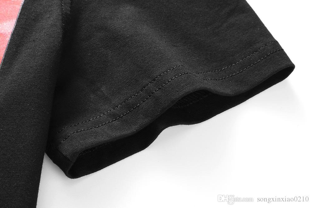 2018 модные мужские новые летние евро сша досуг с коротким рукавом мужские футболки с принтом рисунка Италия женская рубашка размер M-3XL