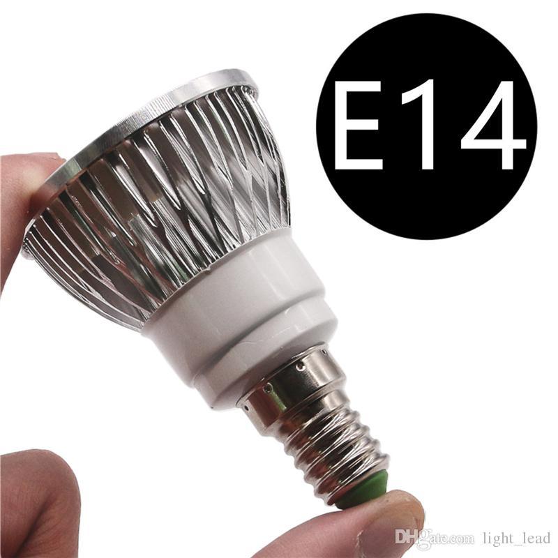 LED de haute puissance Coupes E27 E14 GU10 GU5.3 MR16 9W 12W 15W Ampoules LED en aluminium LED Spot Downlight éclairage