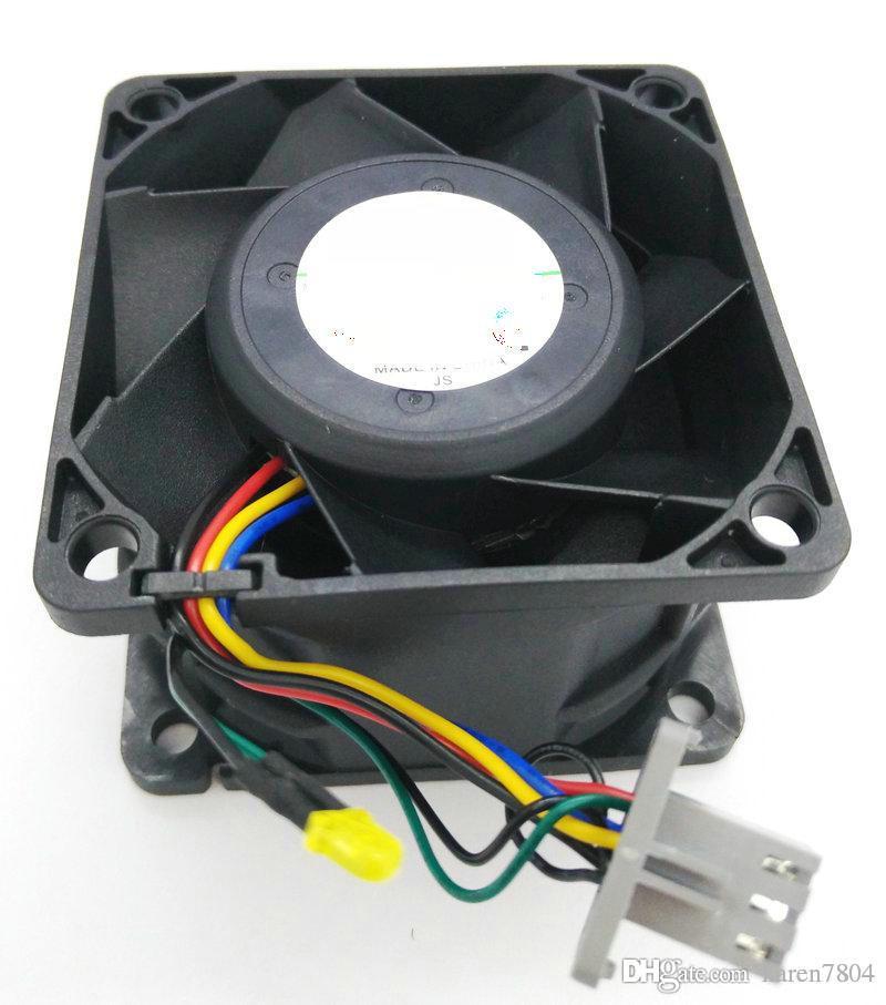 V60E12BS1M3-07A023 yerine 6038 12 V 60 * 60 * 38 MM 6 CM şiddetli bilgisayar sunucusu soğutma fanı V60E12BS1M3