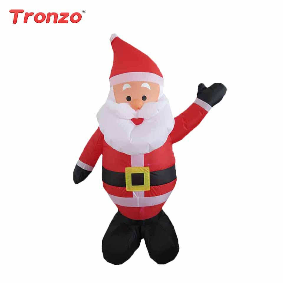 Tronzo 120cm Inflatable Santa Claus Christmas Decorations For Home ...
