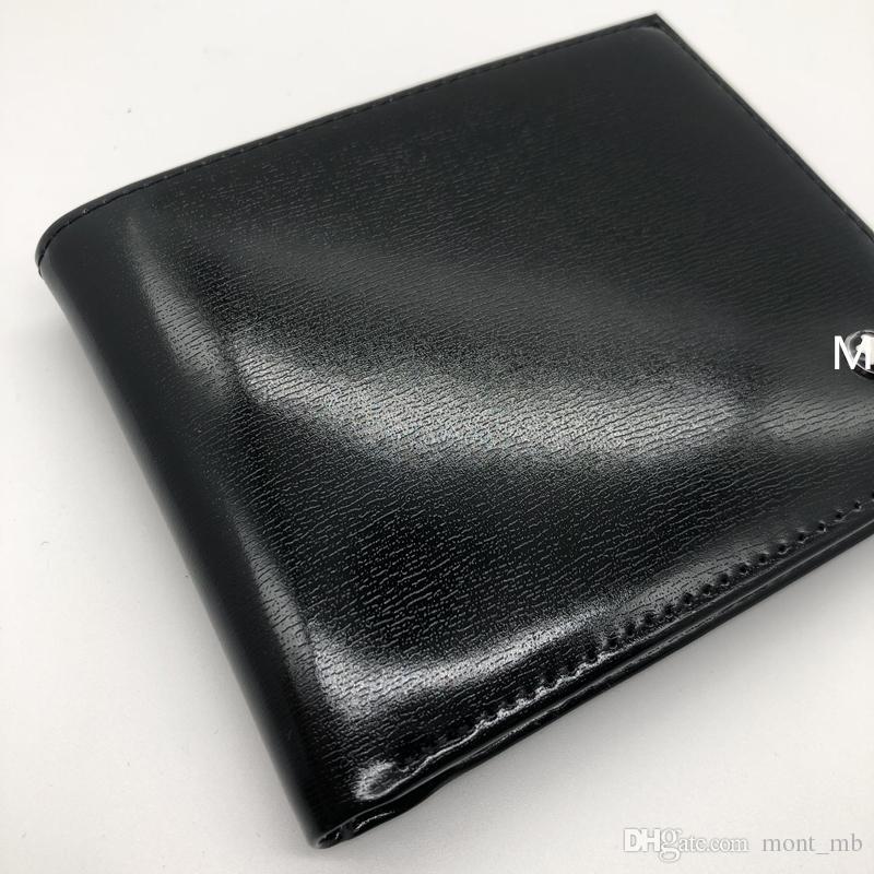 Luxury Men Fashion Leather Wallet Mb Short Clip Artisan Designer ...