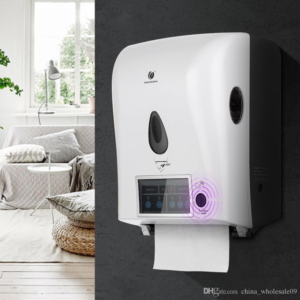 2019 Automatic Sensor Roll Paper Towel Dispenser Wall