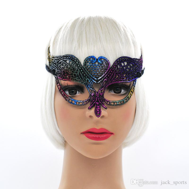 Sexy Lace Eye Mask for Venetian Masquerade Ball Party Fancy Dress Costume Lady Gifts