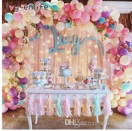 Joy Enlife 5m Plastic Balloon Chain 410 Holes Pvc Rubber Wedding