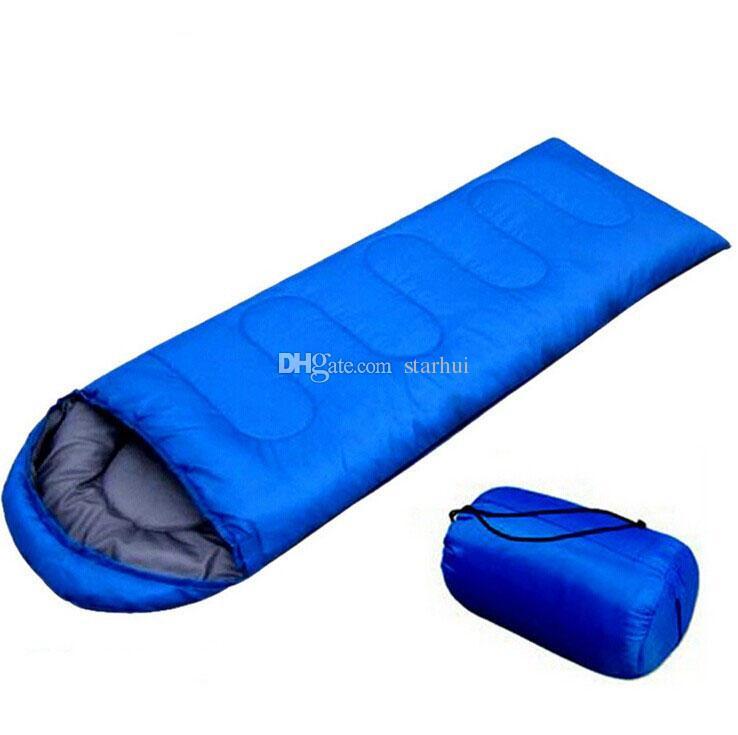 بطانية في أكياس النوم الاحترار واحد كيس النوم عارضة للماء البطانيات مغلف التخييم سفر التنزه كيس النوم WX9-205