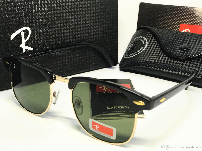fb68415ffbb High Quality R Sunglasses B3016 Half Frame Fashion Glasses Classic ...