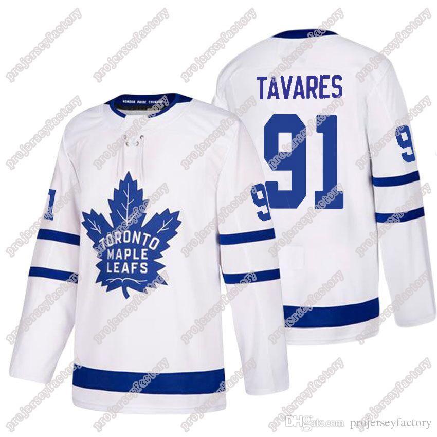new styles 5eece 96bca Toronto Maple Leafs 91 John-Tavares Jersey 91 Tavares Blue White USA Flag  Stitched Purple Fight Cancer Green Salute to Service Jersey