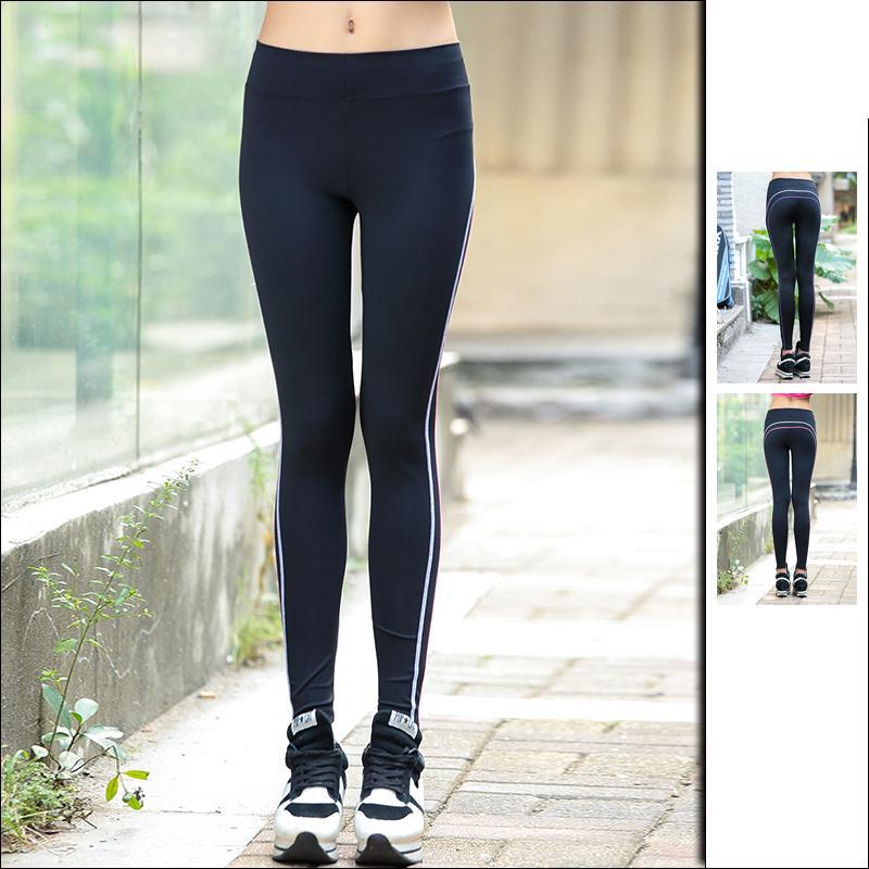 Acheter Pantalon De Yoga Pour Femme Taille Haute Pantalon De Fitness  Respirant Anti Rides Mince Running Sports Pantalon D entraînement À Séchage  Rapide De ... e65b58b18374