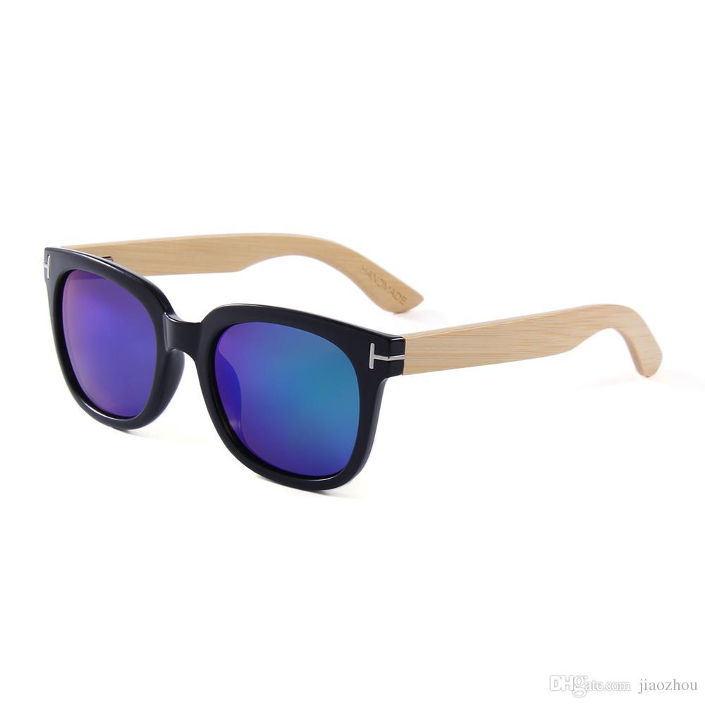 346f0950aa779 Compre Conchen Óculos De Sol De Bambu Polarizado Natural Artesanal Marca  Masculino Óculos De Sol Condução Pesca Óculos De Sol Logotipo Personalizado  De ...