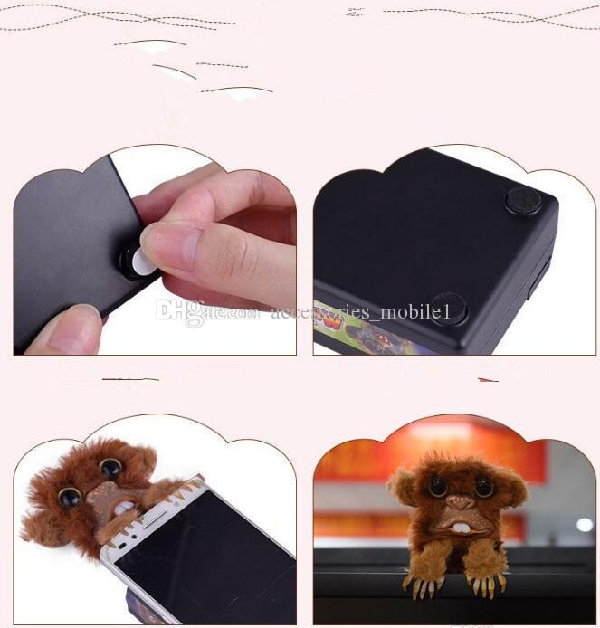 2018 Sneekums Pet Pranksters Jitterers Fur Plastic Brown Pet Sneekums Jitterers Fur Plastic Brown Pet Prankster Funny Toys Prank