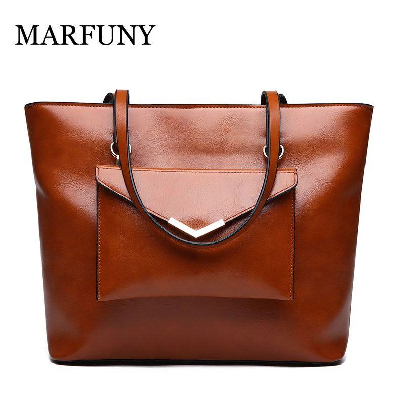 MARFUNY Luxury Handbags Women Bags Designer PU Leather Handbag Shoulder Bags  For Women 2018 Large Ladies Hand Bag Bolsa Feminina Satchel Laptop Bags  From ... af5bbaa8c3e03