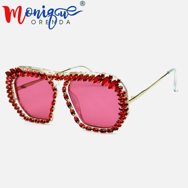 e549d593fbe Brand Designer Oversized Sunglasses Women Clear Lens Glasses Eyeglasses Men  Sun Glasses Square Shades For Women Oculos Retro Sunglasses Baseball  Sunglasses ...