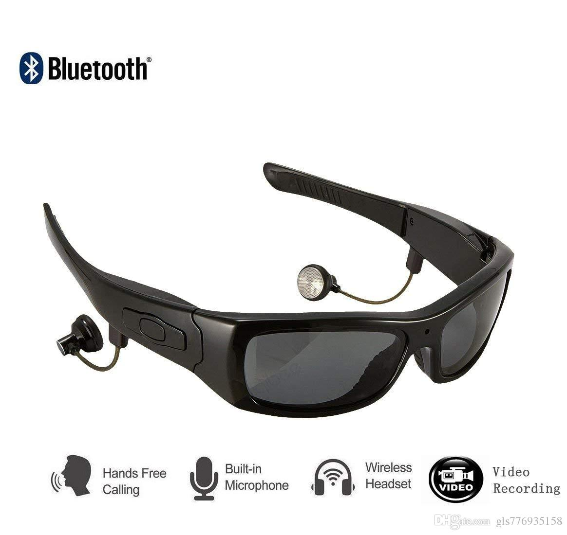 c33bf50518fe 2019 Bluetooth Sunglasses With 101080P Mini Camera Video Recording Polarized  UV400 Glasses With Detachable Speakers From Gls776935158