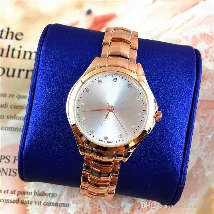 34549816e8ec2 2018 New Model Women Watches Popular Lady Quartz Top Quality Jewelry Buckle  Wholesale Price Japan Movement Stainless Steel Swiss Watch Vintage Watches  From ...