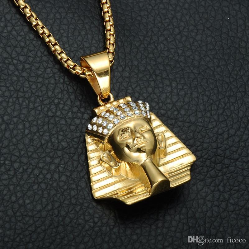 Acquista collana di gioielli in oro egiziano di design all for Gioielli di design