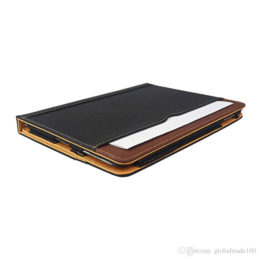 For 2017 iPad 10.5 Leather Wallet Stand Flip Case Smart Cover With Card Slots for iPad Air Pro 9.7 Mini 4